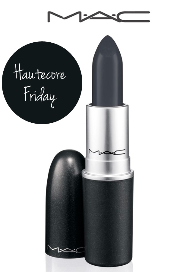 MAC Hautecore Friday Lipstick for Black Friday Only