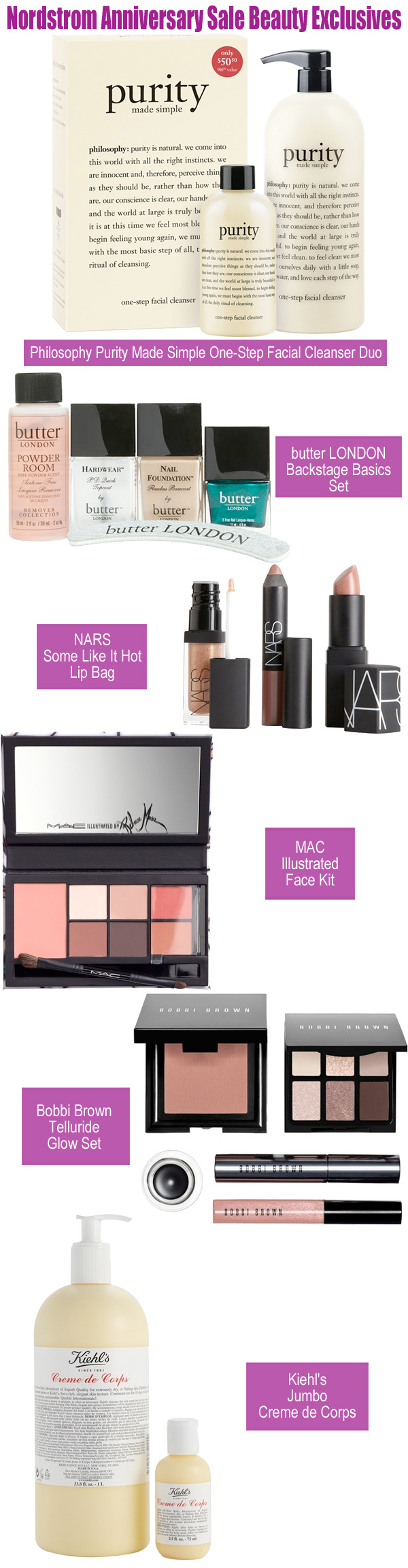 Nordstrom Anniversary Sale Beauty Exclusives 2013