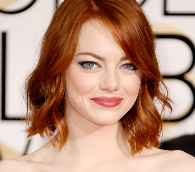 Get the Look: Emma Stone at the 2015 Golden Globe Awards