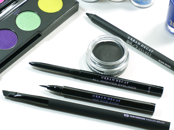 Urban Decay Bold, Black Eyeliners