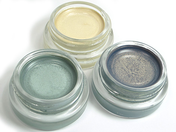 Maybelline Color Tattoo Eyeshadow Icy Mint, Precious Pearl & Seashore Frosts
