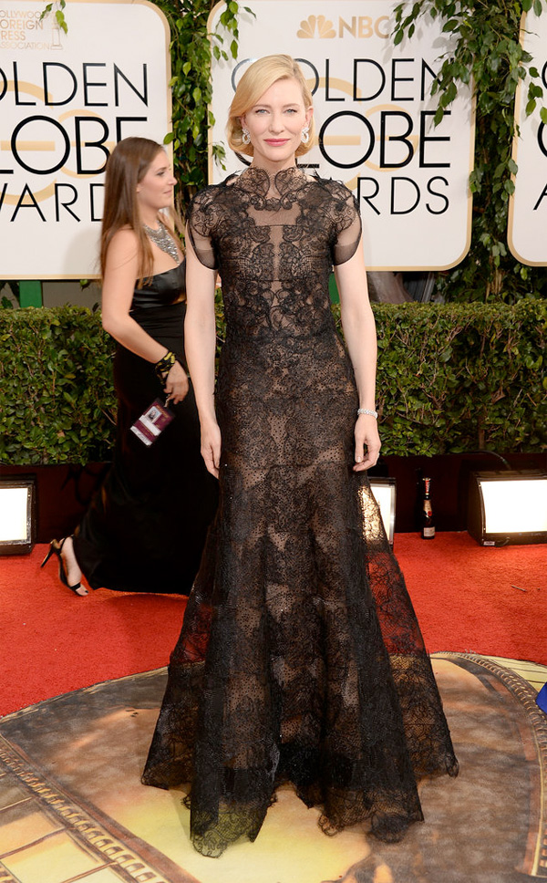 Get the Look: Cate Blanchett at the 2014 Golden Globes.
