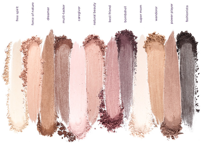 Tarte Cosmetics Tartelette Eye Palette Swatches