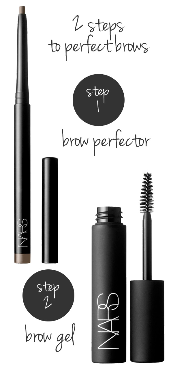 Beautiful Brows: 2 products + 2 steps