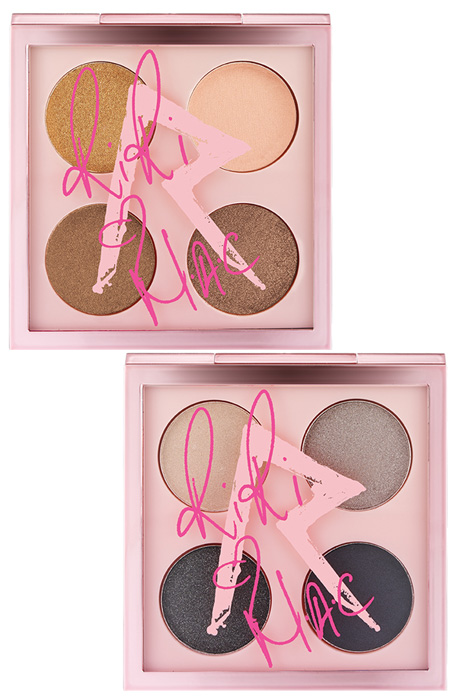 RiRi Hearts MAC Fall Collection : Her Cocoa and Smoke Cocoa Eye Shadow X 4