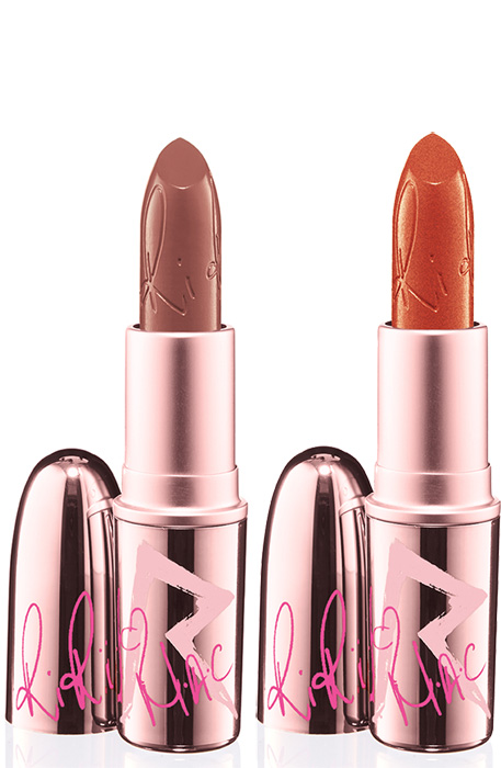 RiRi Hearts MAC Fall Collection : Lipstick in Nude and Who's That Chick