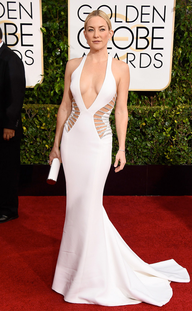 Get the Look: Kate Hudson at the 2015 Golden Globe Awards