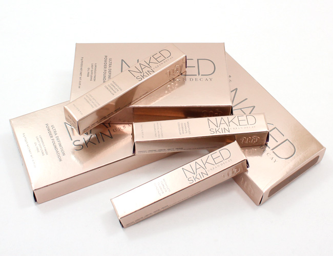 Urban Decay NAKED Skin Powder Foundation + Complete Coverage Concealer.