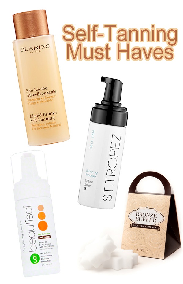 self-tanning must haves