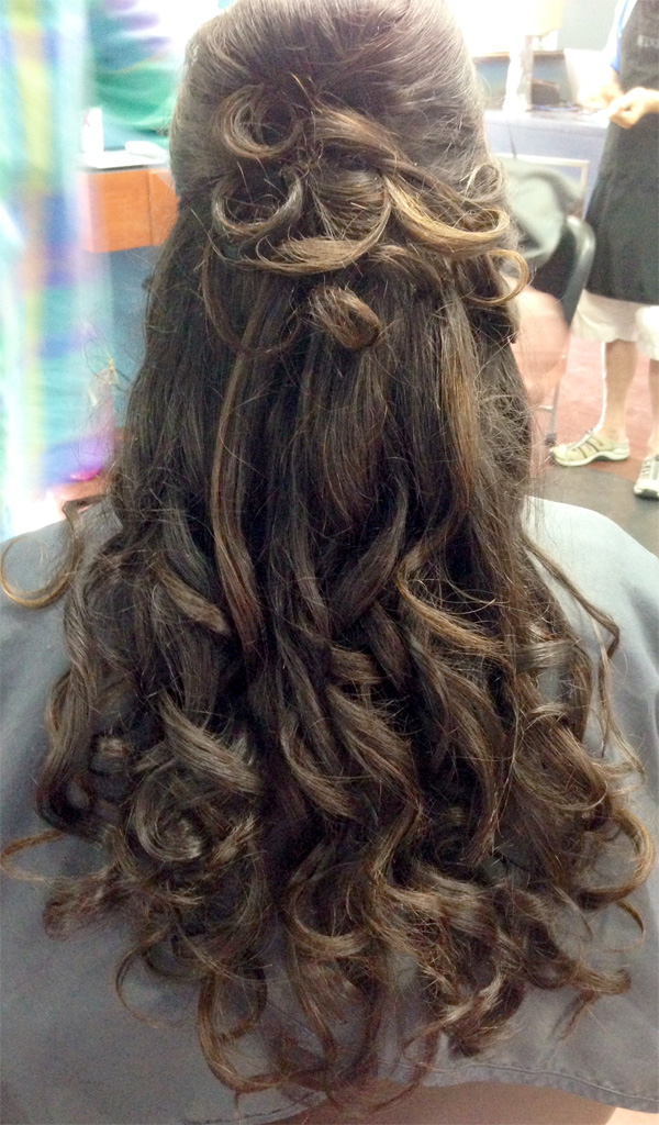 Perfect Hairstyle for Weddings