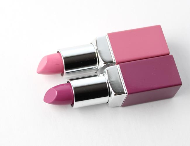 Clinique Pop Lip Colour + Primer: Fab Pop + Grape Pop