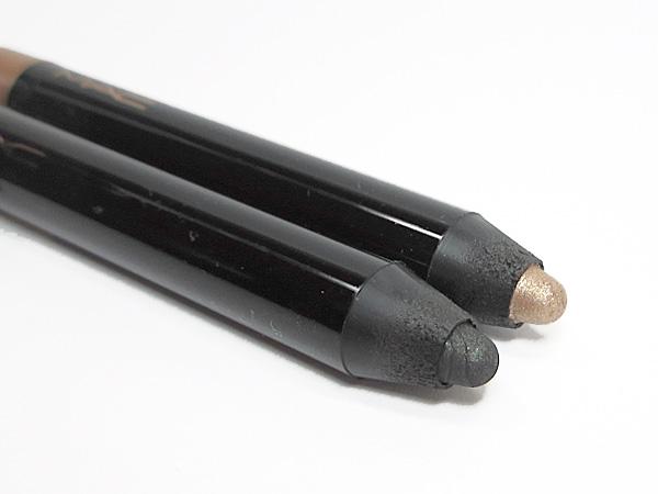 MAC Powerchrome Eye Pencils Rich Glance and Polished Jet