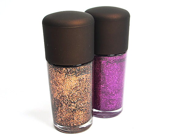 MAC Temperature Rising Nail Lacquer Scorching Haute and Tropical