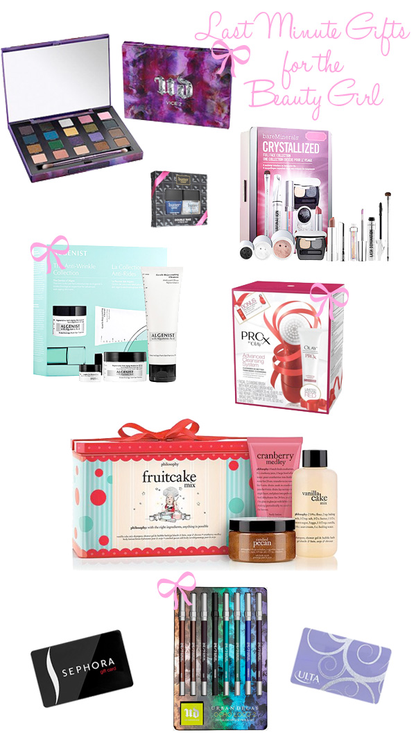 Last Minute Gifts for the Beauty Girl