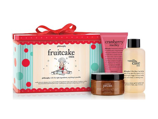 philosophy Fruitcake Mix Bath & Body Set