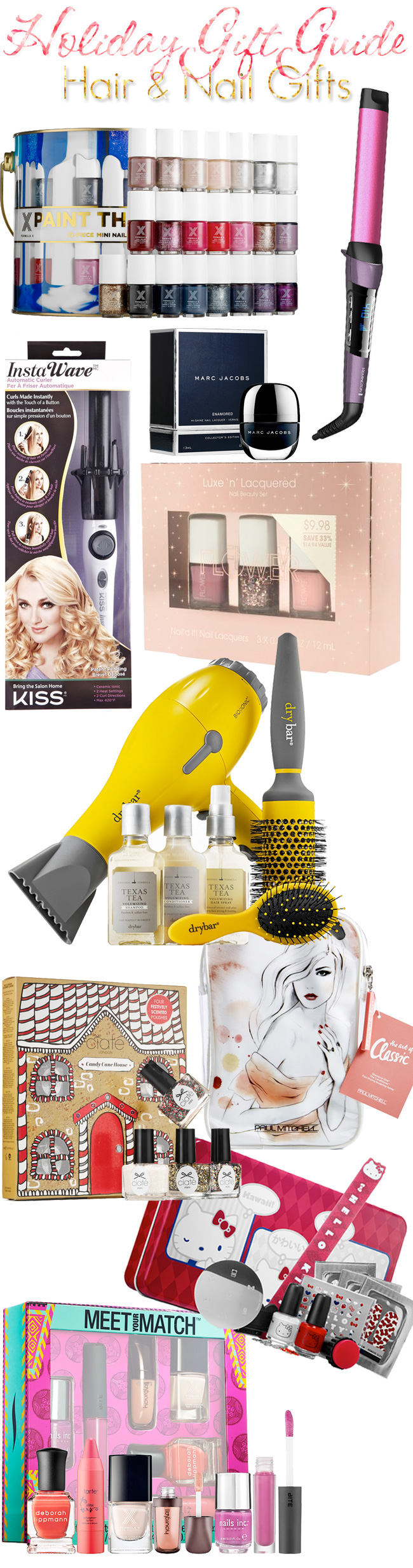 Holiday Gift Guide: The Best Hair & Nail Gifts