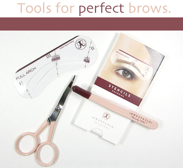 Brow tools for perfect brows | Beautiful Makeup Search