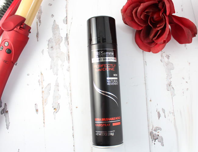 TRESemme Perfectly (un)Done Ultra Brushable Hairspray