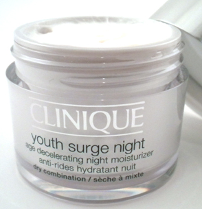 my new favorite night cream clinique youth surge night. Black Bedroom Furniture Sets. Home Design Ideas