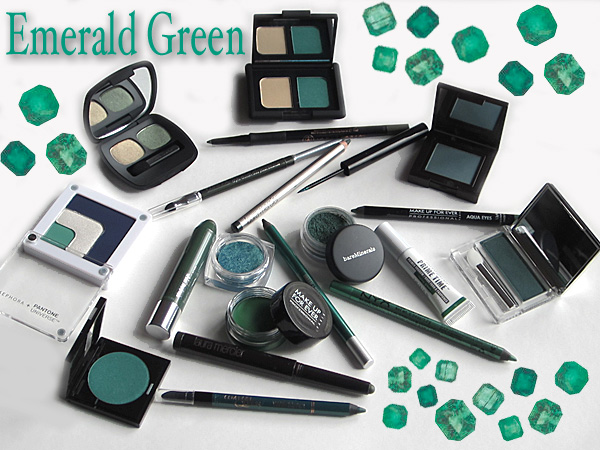 Emerald Green Makeup