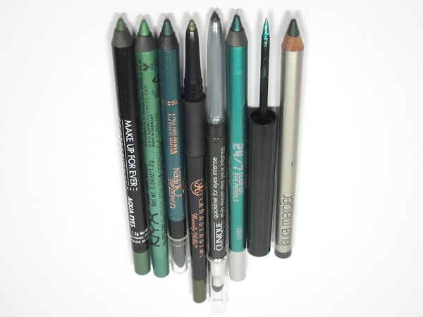 Emerald Green Eye Liners