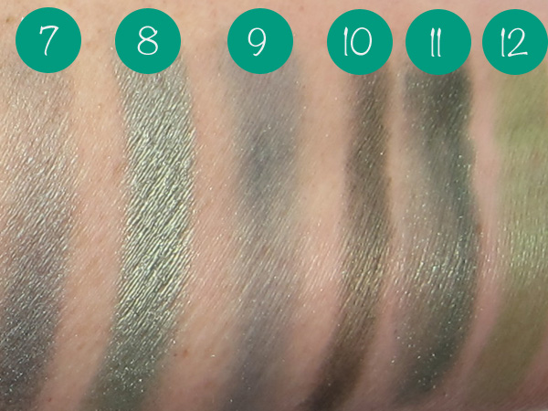 Emerald Green Eye Shadows