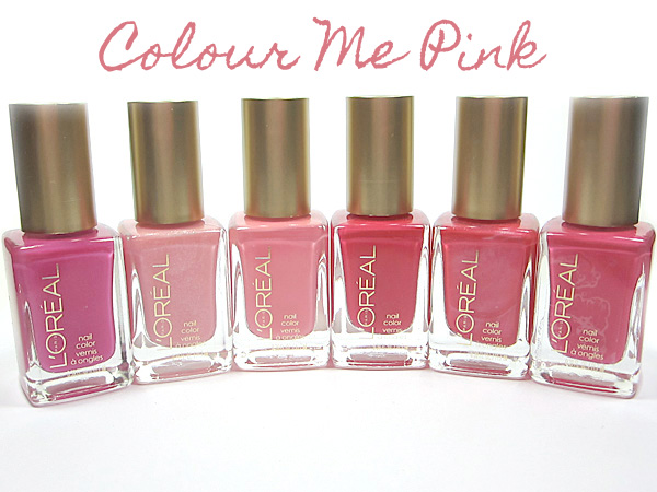 L'Oréal Paris Colour Me Pink Nail Color | Beautiful Makeup Search