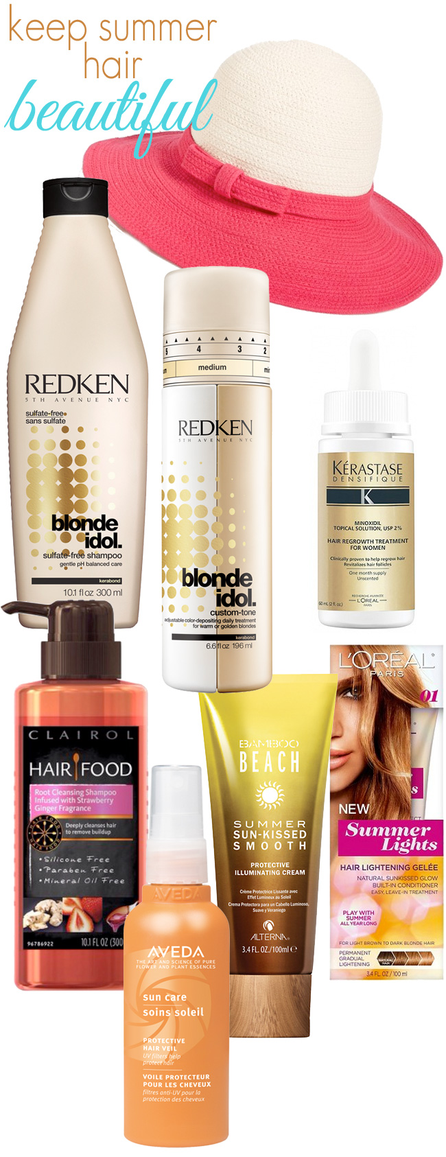 Tips + Products to Keep Summer Blonde Hair Beautiful