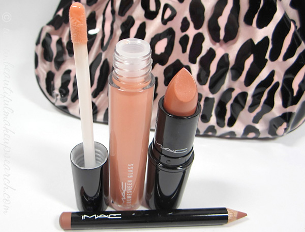 M∙A∙C Primped Out Lip Look Bag Lavish Coral