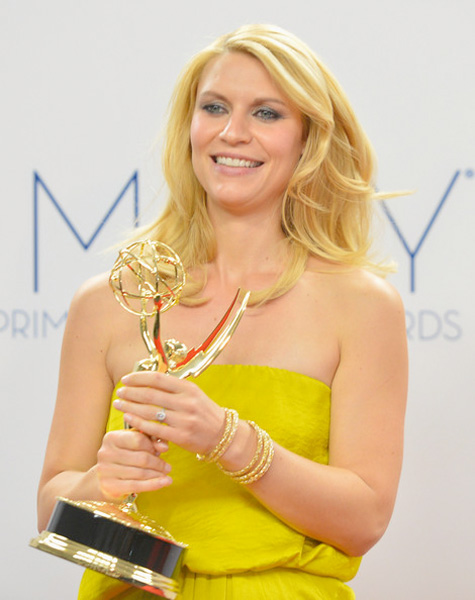 Claire Danes 2012 Emmy Awards