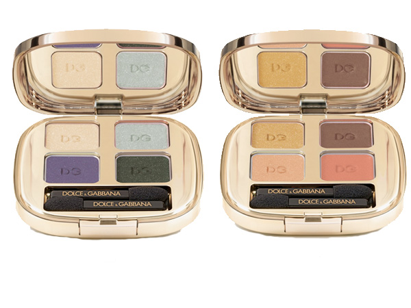 Dolce&Gabbana Summer Glow Collection: Smooth Eye Color Quads
