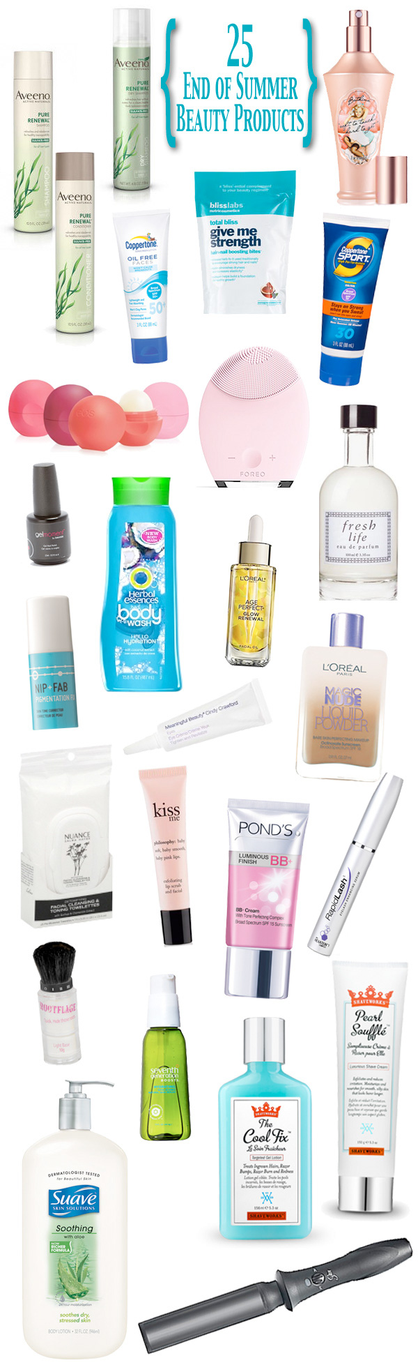 25 Beauty Products to Help You Through the End of Summer | Beautiful Makeup Search