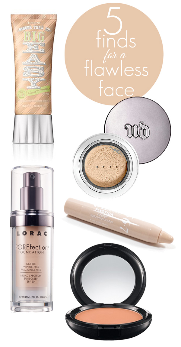 5 Finds for a Flawless Face