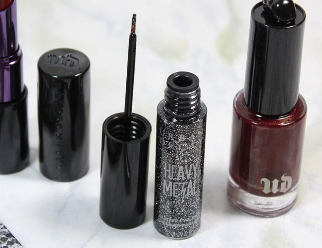 Urban Decay Pulp Fiction Collection: Gunmetal Heavy Metal Glitter Eyeliner