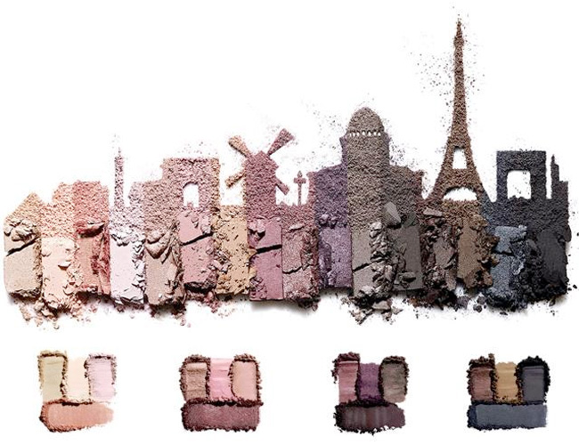 Lancôme Auda[city] in Paris Eyeshadows