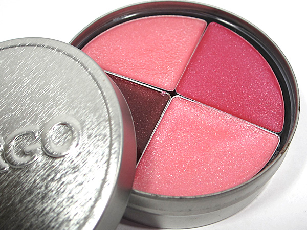 Cargo Cosmetics Lipgloss Quad Oceania