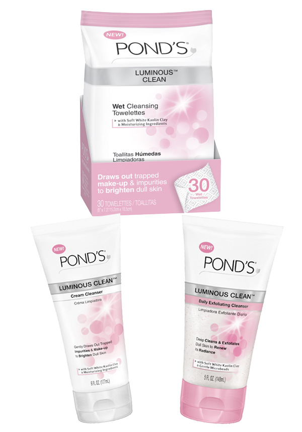 POND'S Luminous Clean Cleansers