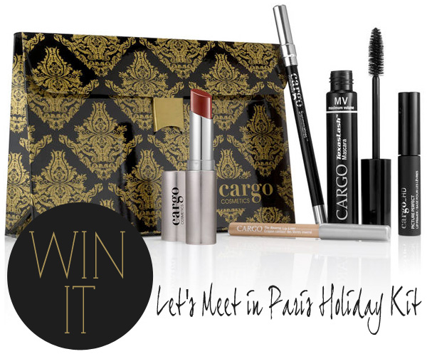 CARGO Cosmetics Let's Meet in Paris Holiday Kit