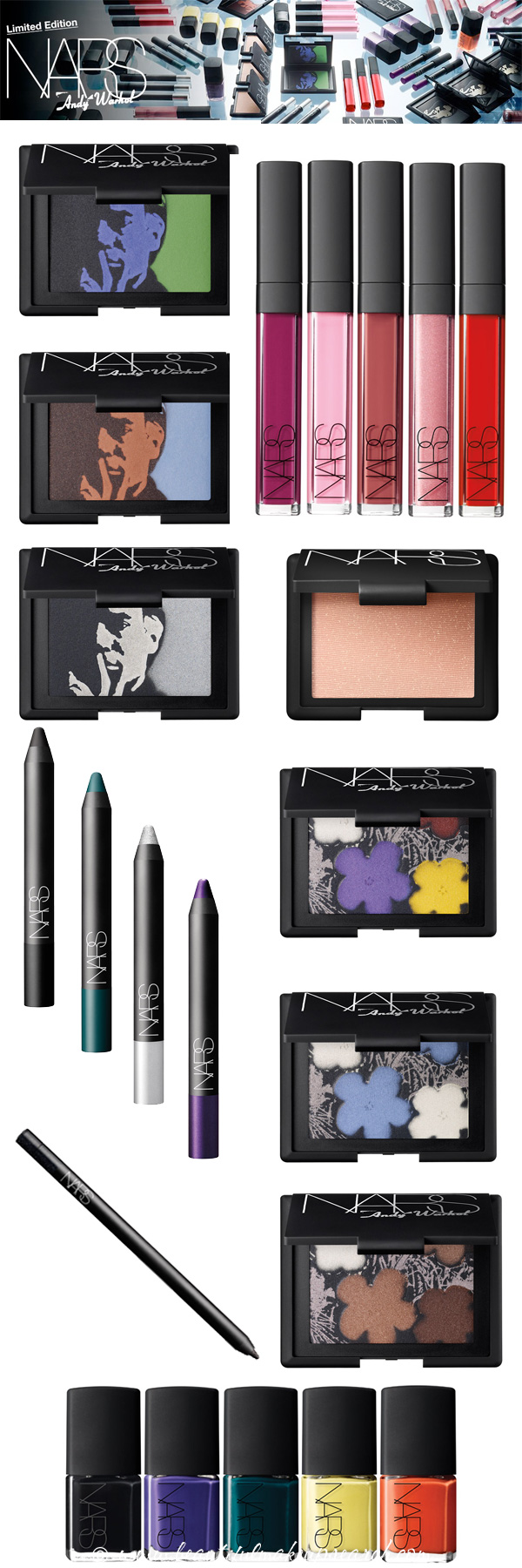 NARS Andy Warhol Makeup Collection
