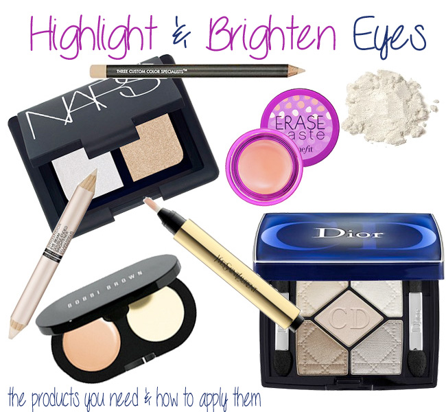 How To Highlight and Brighten Eyes