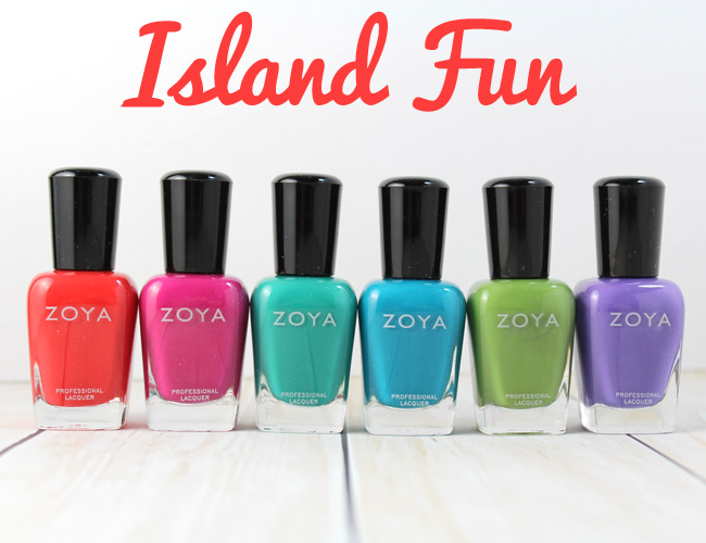 Zoya Summer 2015: Island Fun