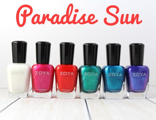 Zoya Summer 2015: Paradise Sun