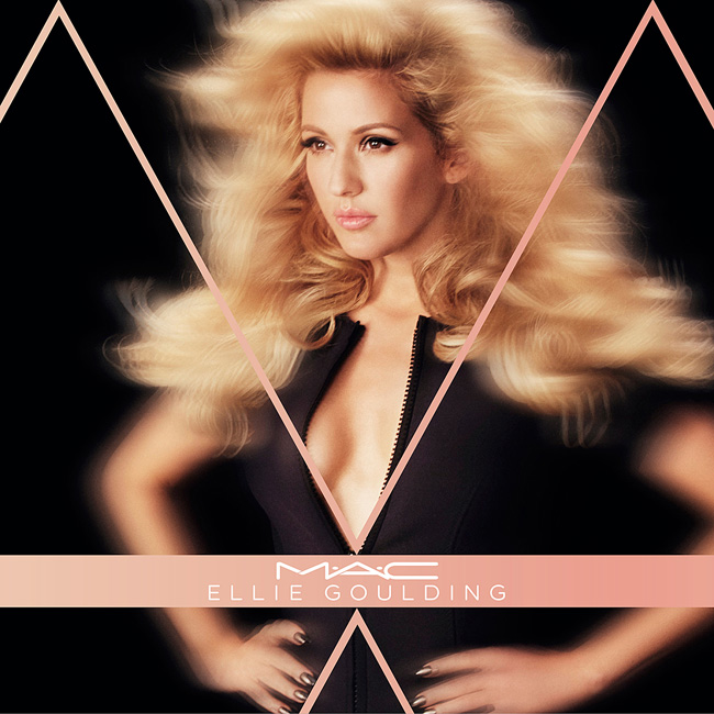 MAC x Ellie Goulding Collection for Holiday 2015.