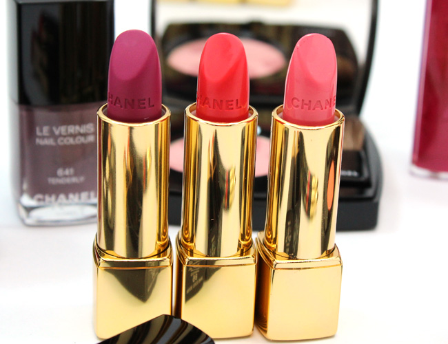 Chanel Rouge Allure La Romanesque, Insaisissable, Badine