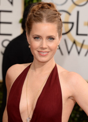 Get the Look: Amy Adams at the 2014 Golden Globes.