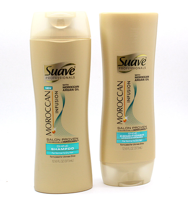 Suave Professionals Moroccan Infusion Shampoo + Conditioner