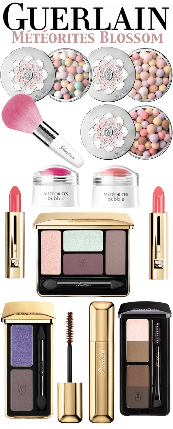Guerlain Spring Makeup Collection: Météorites Blossom