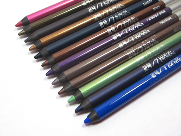 Urban Decay 24/7 Glide-On Eye Pencils NEW Shades