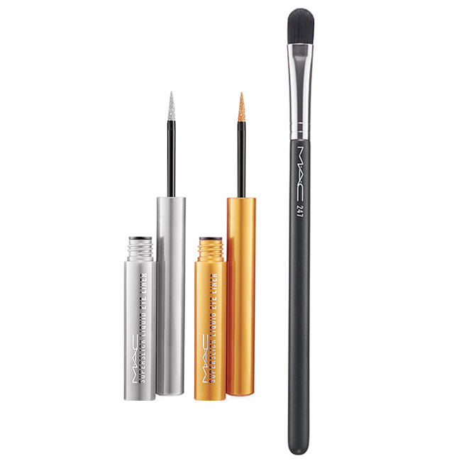 MAC Le Disko Collection: Liquid Eyeliner + Brush