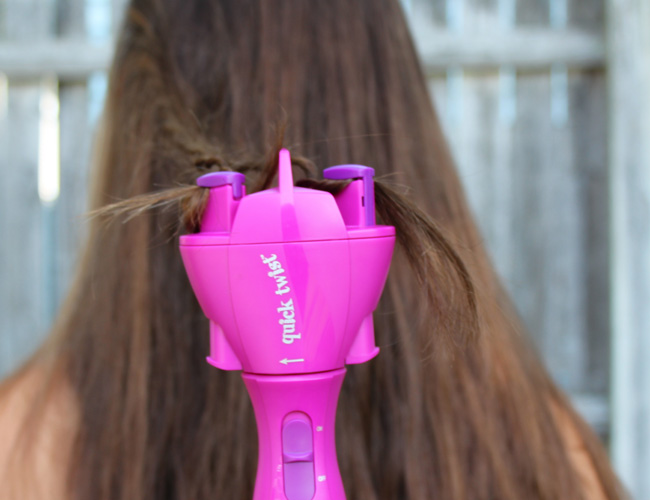 How to use the Conair Quick Twist